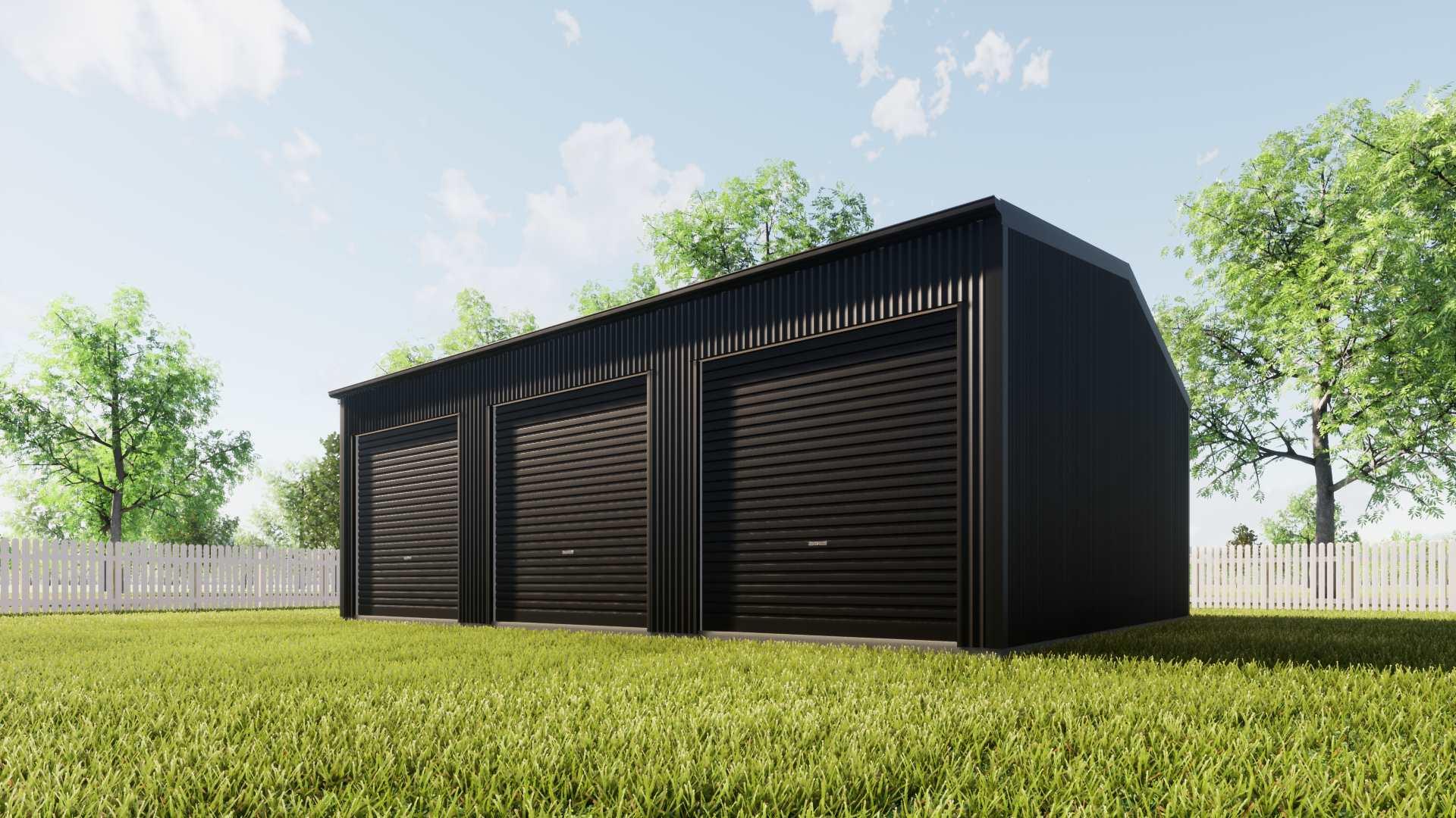 Australian Triple Garage